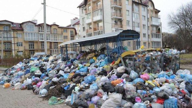 Переповненими є близько третини сміттєвих майданчиків Львова