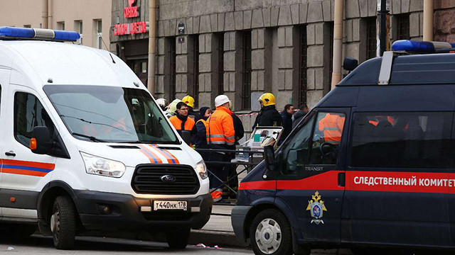 У Росії затримали одного з імовірних організаторів теракту у петербурзькому метро