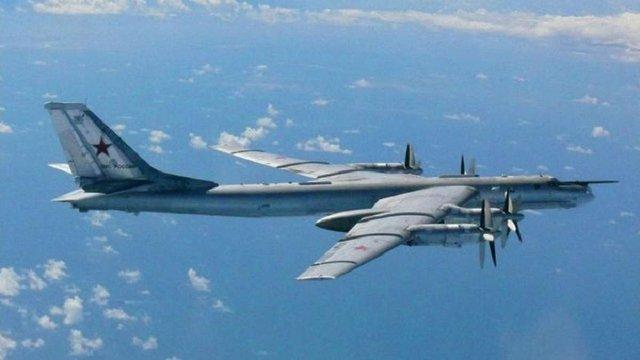 Винищувачі США перехопили російські бомбардувальники біля берегів Аляски