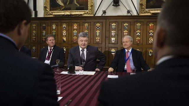 Британські бізнесмени інвестували в Україну $2 млрд, – Порошенко