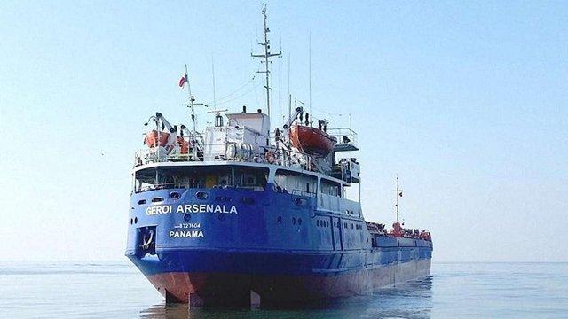 В Керченській протоці затонуло російське вантажне судно з українцями на борту