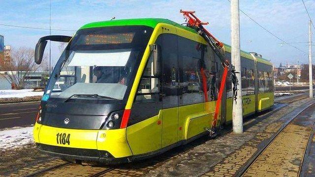 На сихівській трамвайній лінії виявили серйозні конструктивні недоліки