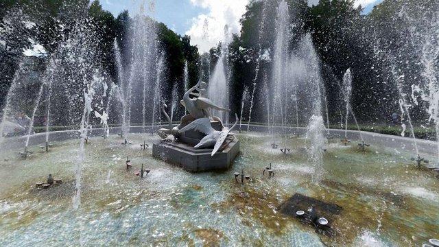 У травні у Стрийському парку запрацює фонтан