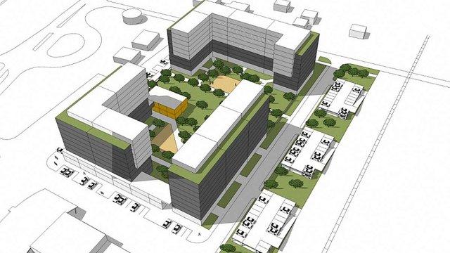 На Сихові планують збудувати житловий комплекс з дитячим садком та дворівневим паркінгом
