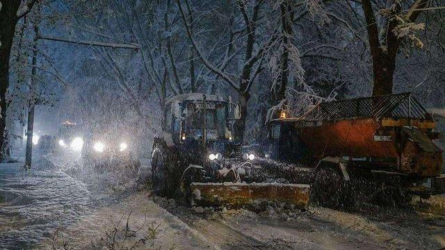 Через квітневі снігопади в Молдові ввели надзвичайний стан