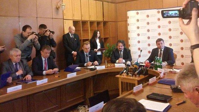 У Львові підписали меморандум про розблокування полігонів ТПВ на території області