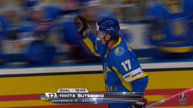 Україна програла перший матч у домашньому ЧС з хокею