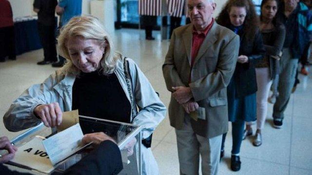 На президентських виборах у Франції зафіксовано рекордну явку виборців
