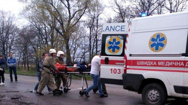 На Дніпропетровщині внаслідок зіткнення двох легкових авто загинули двоє людей