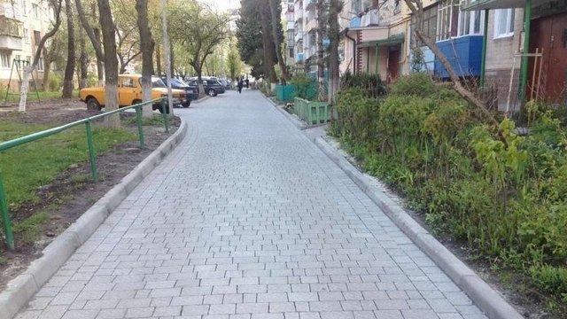 У Львові ремонтують внутрішньоквартальні дороги та двори