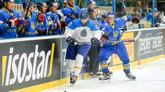 Збірна України з хокею програла Казахстану на домашньому чемпіонаті світу