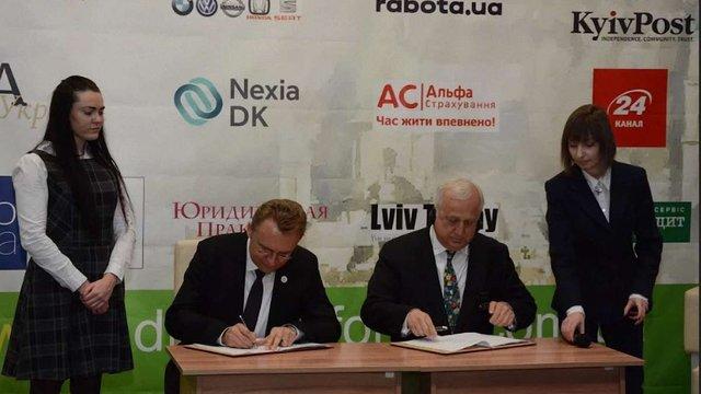 Львів підписав з ЄБРР договір гарантії на впровадження е-квитка