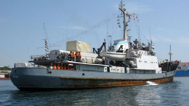 У Чорному морі затонув російський військовий корабель