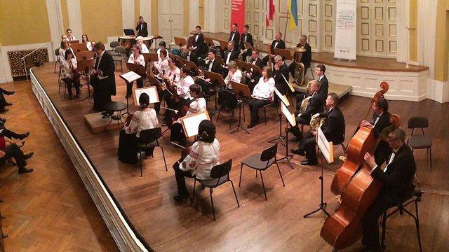 В Австрії виступив оркестр Луганської філармонії