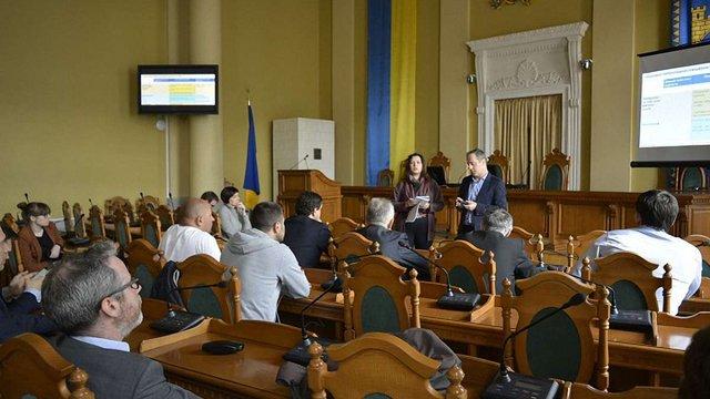 Компанія Egis презентувала депутатам Львівської міськради план заходів вирішення проблеми з ТПВ