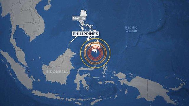 На Філіппінах стався землетрус силою у 7,2 балів