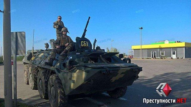 У Миколаївській області поліція вилучила у водія тротилову вибухівку з запалами