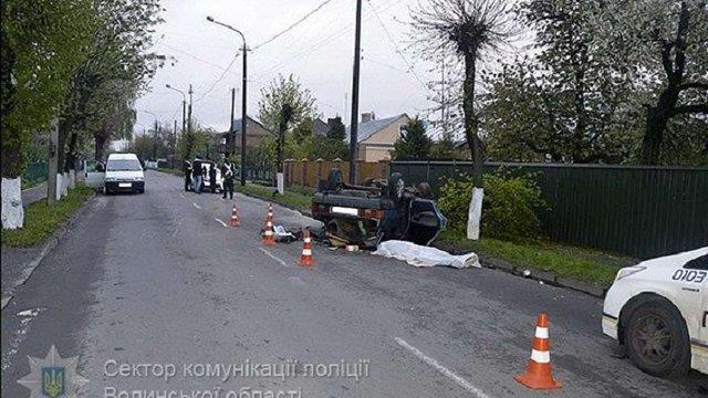 У ДТП в Луцьку загинула одна людина, ще четверо – госпіталізовані