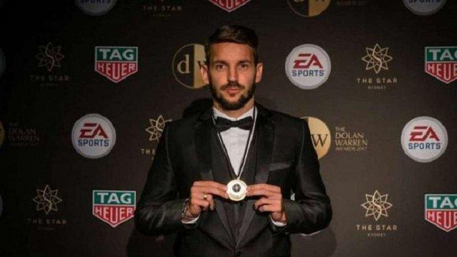 Колишній футболіст київського «Динамо» став найкращим гравцем чемпіонату Австралії