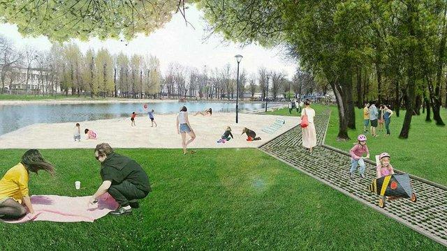 На березі Левандівського озера хочуть зробити міський пляж