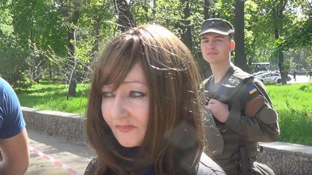 В Одесі затримали  мешканку Придністров'я, яка брала участь в антиукраїнських акціях