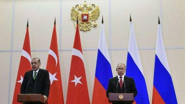 Путін та Ердоган домовилися про скасування більшої частини економічних санкцій