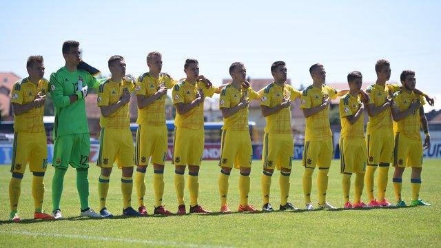 Збірна України U-17 поступилась у першому матчі на Євро-2017