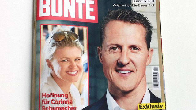 Німецький журнал виплатить €50 тис. за неправдиву інформацію про здоров'я Міхаеля Шумахера
