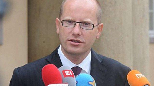 Прем'єр-міністр Чехії передумав йти у відставку