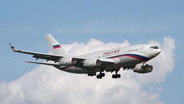 Російський урядовий літак порушив повітряний простір Естонії