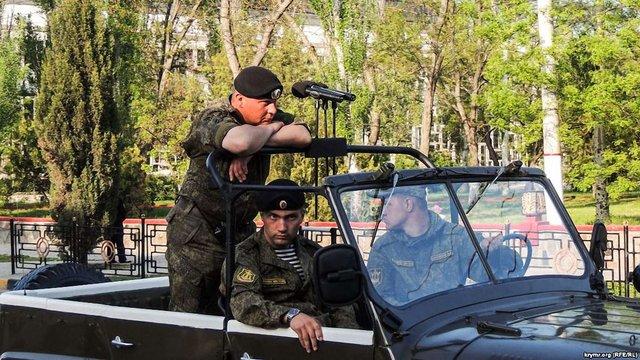 Парадом до 9 травня у Керчі буде командувати український полковник-дезертир
