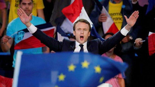 За попередніми результатами виборів у Франції - переміг Еммануель Макрон