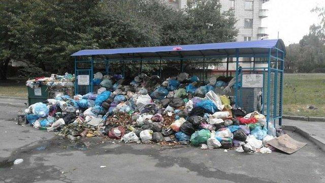 У Львові переповнено 35% сміттєвих майданчиків житлового фонду