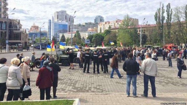 В Україні під час сутичок на 9 травня затримали 45 людей, 25 з них – в Києві