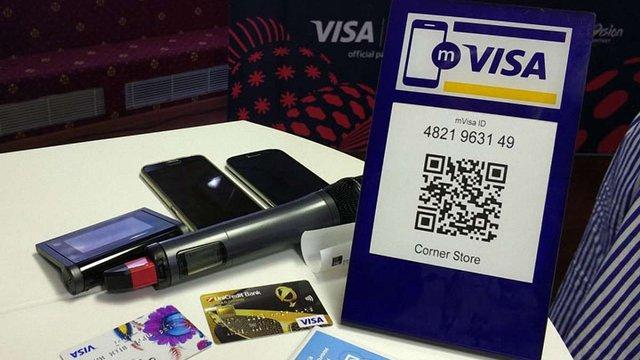 Visa показала нову технологію безконтактної оплати, яку запустять в Україні