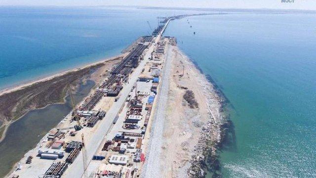 Будівництво Росією моста через Керченську протоку може спричинити загибель дельфінів
