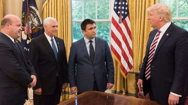 Посол України у США розкрив подробиці зустрічі Павла Клімкіна з Дональдом Трампом
