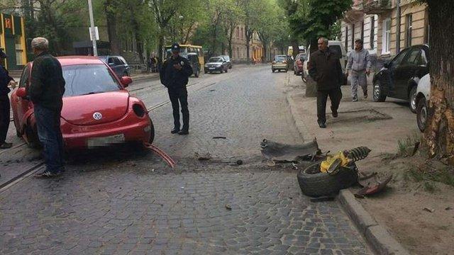 У Львові водійка вчинила ДТП та втекла з місця події