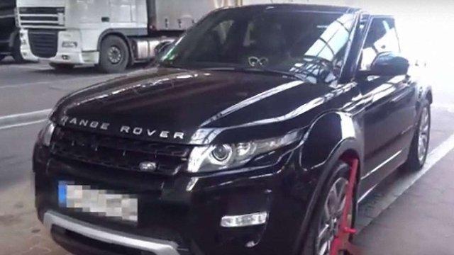 На польсько-українському кордоні затримали крадений в Німеччині Land Rover