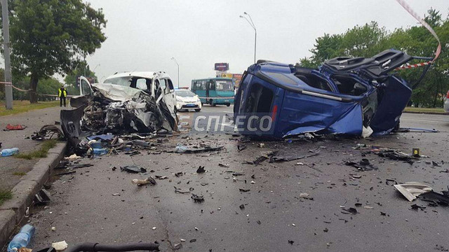 У Києві в ДТП на слизькій дорозі  загинуло троє людей