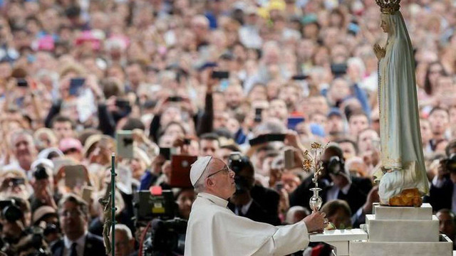 У Фатімі Папа Римський канонізує дітей-пастухів - свідків пророцтва Діви Марії