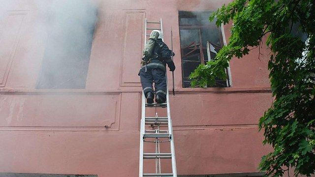 У Миколаєві сталася пожежа у психіатричній лікарні