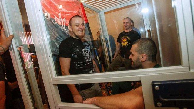 Із бійців «Правого сектору», причетних до стрілянини в Мукачевому, зняли звинувачення