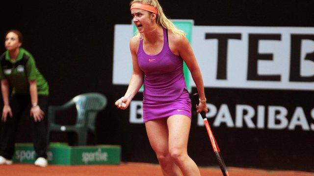 Українська тенісистка Еліна Світоліна вперше вийшла у третій раунд турніру в Римі