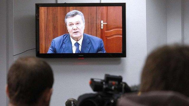 Український суд не буде звертатися до Росії для організації відеозв'язку Януковича