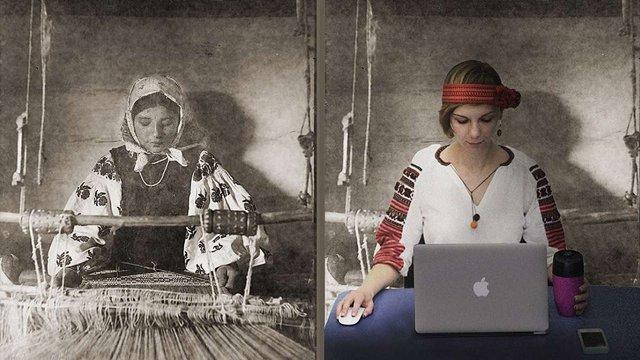 У Львові відтворили старі фотографії у вишиванках та з сучасною технікою
