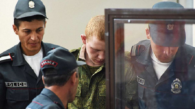 Російського солдата-вбивцю Пермякова депортували з Вірменії до Росії