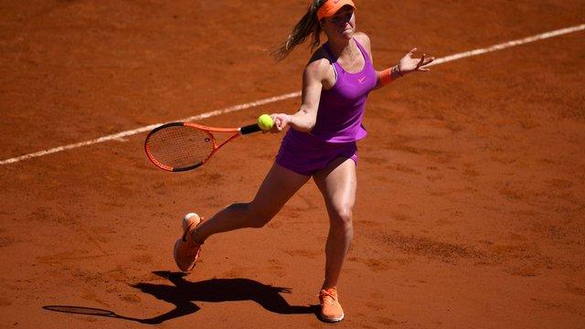 Українська тенісистка Еліна Світоліна перемогла третю ракетку світу