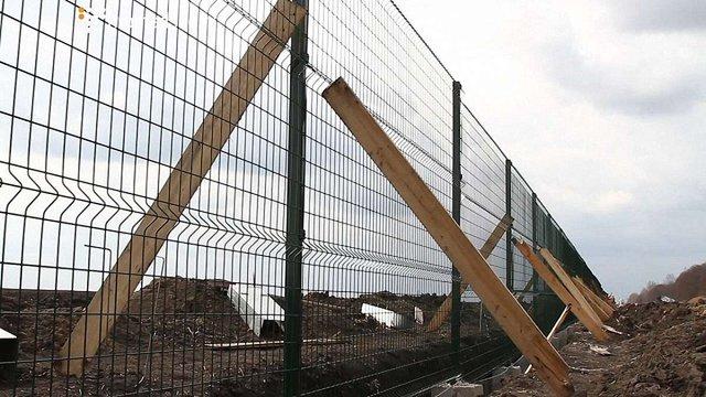 Прикордонники заявили про завершення будівництва «Стіни» на кордоні з РФ в Харківській області
