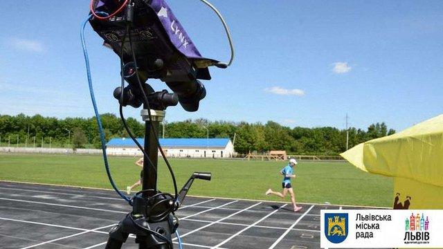 Львів придбав комплект спецобладнання для проведення спортивних змагань міжнародного рівня